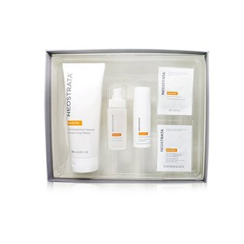 Brightening System Kit: Enlighten Cleanser, Enlighten Serum, Enlighten Eye Cream, Enlighten Skin Brightener SPF 35, Enlighten Pigment Controller (5pcs)