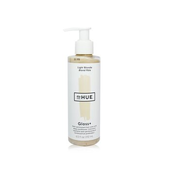 Gloss+ Semi-Permanent Hair Color and Deep Conditioner - # Light Blonde (192ml/6.5oz)