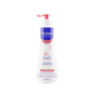 Soothing Cleansing Gel For Very Sensitive Skin - Hair & Body (Exp. Date 10/2020) (300ml/10.14oz)