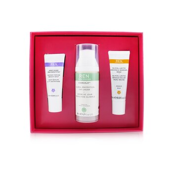 Face Favourites Set: Glycol Latic Mask 15ml + Evercalm Day Cream 50ml + keep Young & Beautiful Beauty Shot 10ml (3pcs)