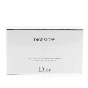 Diorsnow Brightening Collection: Milk Serum 30ml+ Micro-Infused Lotion 50ml+ UV Protection Fluid SPF50 30ml+ Pouch (3pcs+1pouch)