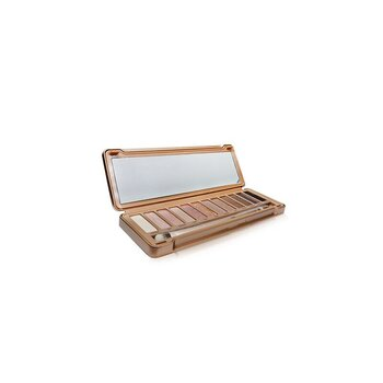 Naked 3 Eyeshadow Palette: 12x Eyeshadow, 1x Doubled Ended Shadow/Blending Brush (Box Slightly Damaged) (6x1.3g/0.05oz)