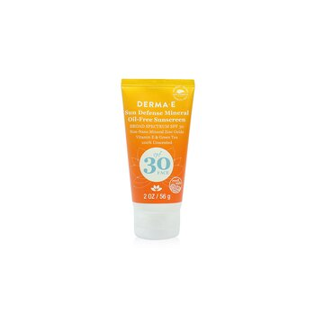 Sun Defense Mineral Oil-Free Sunscreen SPF 30 Face (56g/2oz)