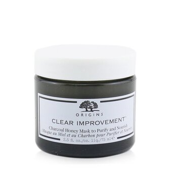Clear Improvement Charcoal Honey Mask To Purify & Nourish (75ml/2.5oz)