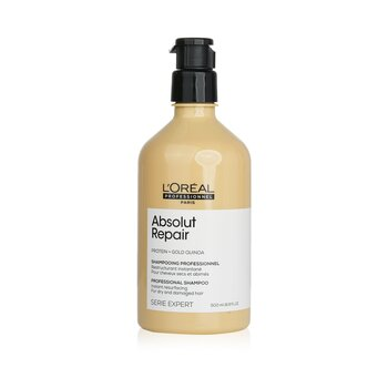 Professionnel Serie Expert - Absolut Repair Gold Quinoa + Protein Instant Resurfacing Shampoo (500ml/16.9oz)