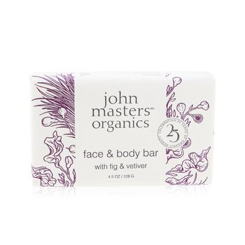 Face & Body Bar With Fig & Vetiver (128g/4.5oz)