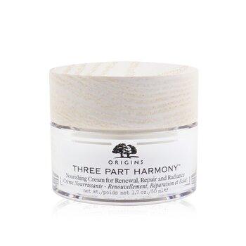 Three Part Harmony Nourishing Cream For Renewal, Repair & Radiance (50ml/1.7oz)