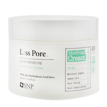 SNP Less Pore Matifying Cream (Exp. Date 12/2020) (90ml/3.04oz)