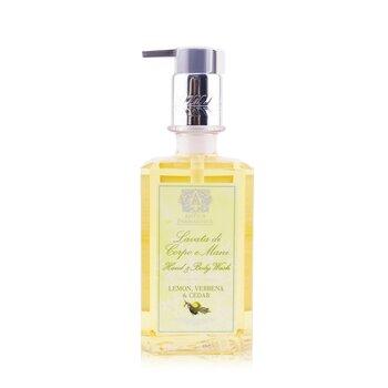Hand & Body Wash - Lemon, Verbena & Cedar (296ml/10oz)