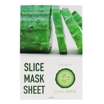 Slice Mask Sheet - Cucumber (Exp. Date 11/2020) (10sheets)