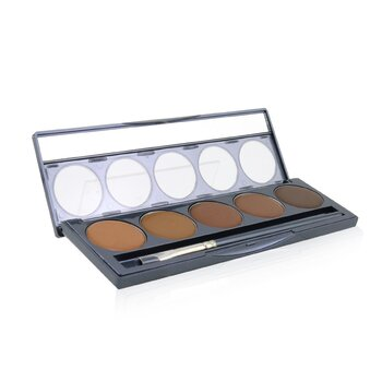 Ultimate Foundation 5 In 1 Pro Palette - # 100 Series (Deep Red Undertones) (12.5g/0.44oz)