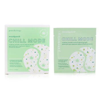 Moodpatch - Chill Mode Soothing Cannabis Seed Oil-Infused Eye Gels (Cannabis Sativa Seed Oil+Reishi & Rhodiola Extract) (5pairs)