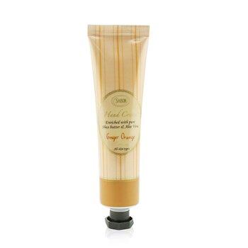 Hand Cream - Ginger Orange (Tube) (50ml/1.66oz)