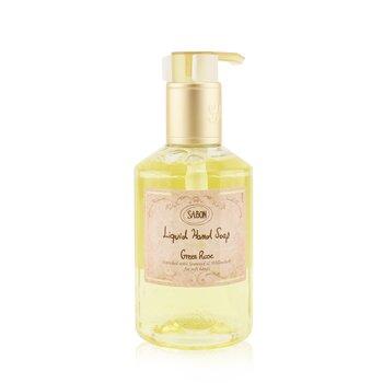 Liquid Hand Soap - Green Rose (200ml/7oz)