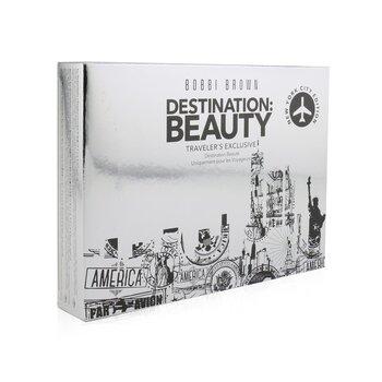 Destination: Beauty New York Makeup Palette (1x Blush, 1x Illuminating Powder, 6x Eyeshadow, 1x Lip Color, 1x Brush) (23.8g/0.83oz)