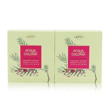 Acqua Colonia Pink Pepper & Grapefruit Aroma Soap Duo (2x100g/3.5oz)