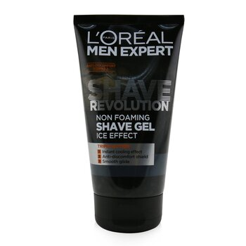 Men Expert Shave Revolution Non Foaming Shave Gel (Ice Effect) (150ml/5.29oz)