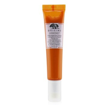 GinZing Refreshing Eye Cream To Brighten & Depuff On-The-Go (10ml/0.34oz)