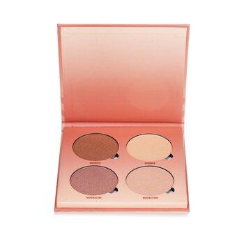 Glow Kit (4x Highlighter) - # Sun Dipped (29.6g/1.04oz)