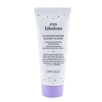 Fabuloso Colour Intensifying Conditioner - # Platinum Blonde (220ml/7.5oz)