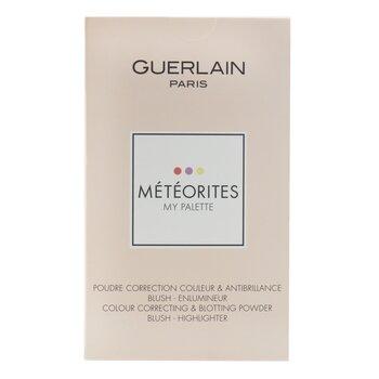 Meteorites My Palette (Colour Correcting Blotting Powder, Blush And Highlighter) (16.2g/0.56oz)