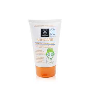 Suncare Babies Protection SPF 30 With Natural Olive & Calendula (Exp. Date: 11/2020) (100ml/3.4oz)