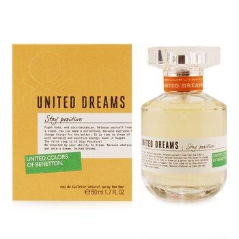 United Dreams Stay Positive Eau De Toilette Spray (50ml/1.7oz)