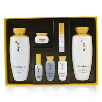Essential Duo Set: Balancing Water (125ml+15ml) + Balancing Emulsion (125ml+15ml)  + Activating Serum 8ml + Rejuvenating Eye Cream 3.5 ml + Firming  Cream 5ml (7pcs)