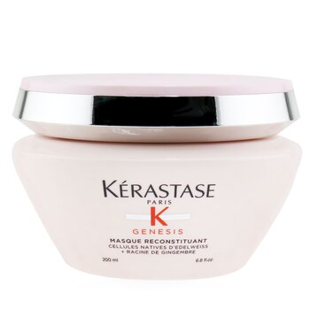 Genesis Masque Reconstituant Anti Hair-Fall Intense Fortifying Masque (Weakened Hair, Prone To Falling Due To Breakage) (200ml/6.8oz)