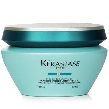 Resistance Masque Force Architecte Strengthening Masque (Brittle, Damaged Hair, Split Ends) (200ml/6.8oz)