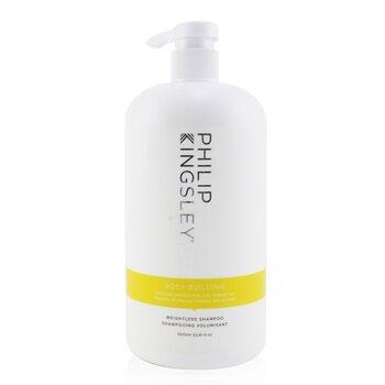 Body Building Weightless Shampoo (Volumises and Lifts Fine, Flat, Flyaway Hair) (1000ml/33.81oz)