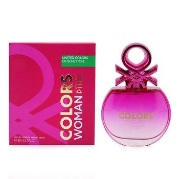 Colors Pink Eau De Toilette Spray (New Version) (80ml/2.7oz)