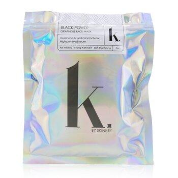 K. Series Black-Power Graphene Face Mask - Far-Infared, Strong-Adhesion & Skin-Brightening (5pcs)