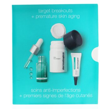 Clear & Brighten Kit: Daily Microfoliant 13g+ Age Bright Clearing Serum 10ml+ Age Bright Spot Fader 6ml (3pcs)