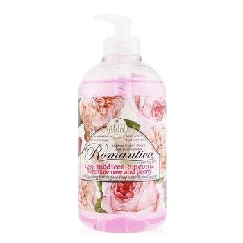 Romantica Exhilarating Hand & Face Soap With Rosa Canina - Florentine Rose & Peony (500ml/16.9oz)