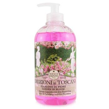 Emozioni In Toscana  Hand & Face Soap With Iris Florentina - Garden In Bloom (500ml/16.9oz)