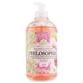 Philosophia Liquid Soap - Lift - Cherry Blossom, Osmanthus & Geranium (500ml/16.9oz)