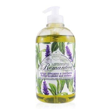 Romantica Exhilarating Hand & Face Soap With Verbena Officinalis - Lavender And Verbena (500ml/16.9oz)