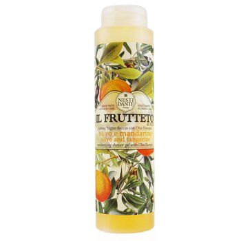 Il Frutteto Moisturizing Shower Gel With Olea Europea -  Olive And Tangerine (300ml/10.2oz)