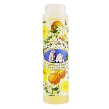 Dolce Vivere Shower Gel - Capri - Orange Blossom, Frosted Mandarine & Basil (300ml/10.2oz)