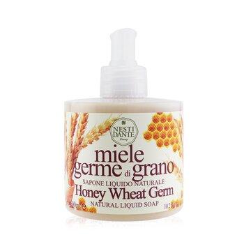 Natural Liquid Soap - Honey WheatGerm (300ml/10.2oz)
