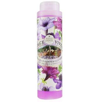 Dolce Vivere Shower Gel - Portofino - Flax, Rose Water & Marine Lily (300ml/10.2oz)