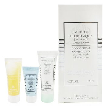 Ecological Compound 4-Pieces Set: Ecological Compound 125ml + Buff & Wash Face Gel + Hydra-Global Serum 5ml + Hydra-Global 10ml (4pcs)