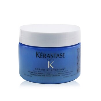Fusio-Scrub Scrub Energisant Intensely Purifying Scrub Cleanser with Sea Salt (Oily Prone Scalp) (250ml/8.5oz)