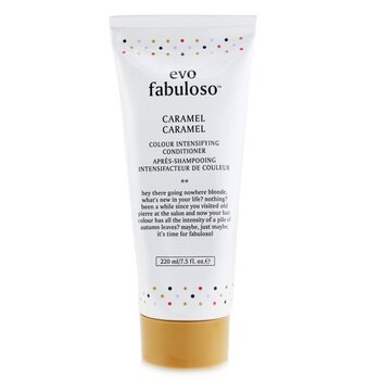 Fabuloso Colour Intensifying Conditioner - # Caramel (220ml/7.5oz)