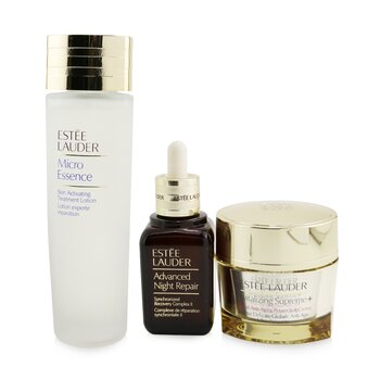 Advanced Night Repair Essentials Set: Advanced Night Repair 50ml+ Micro Essence 150ml+ Revitalizing Supreme+ Creme 75ml (3pcs)