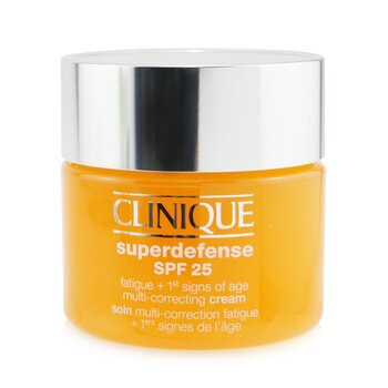 Superdefense SPF 25 Fatigue + 1st Signs Of Age Multi-Correcting Cream - Very Dry to Dry Combination (50ml/1.7oz)