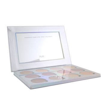 Extreme Visionary 12 Piece Magnetic Eyeshadow Palette (15.6g/0.55oz)