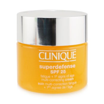 Superdefense SPF 25 Fatigue + 1st Signs Of Age Multi-Correcting Cream - Combination Oily to Oily (50ml/1.7oz)