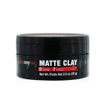 Style Sexy Hair Matte Clay Matte Texturing Clay (70g/2.5oz)